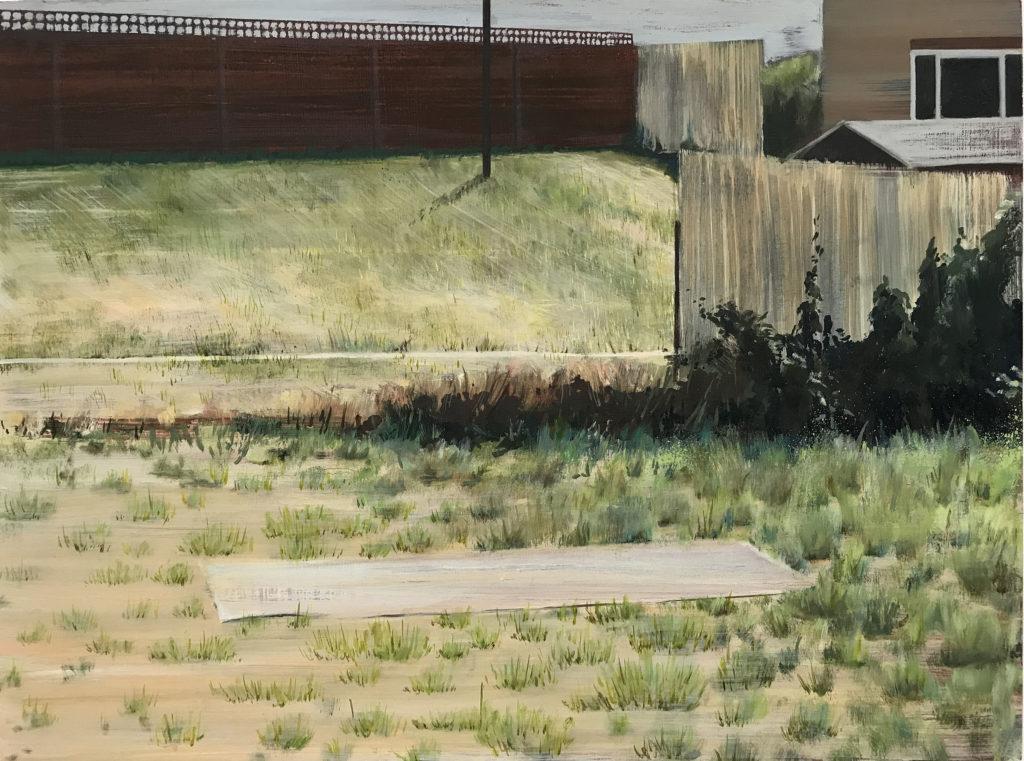 David Edmond | Garden Painting 4